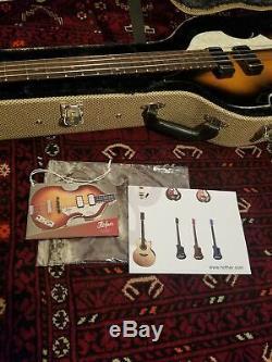 Hofner HCT-500/1-CV Ltd Ed. Cavern Beatle Bass in Mint Condition