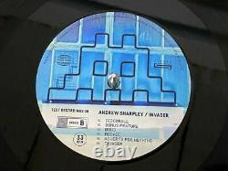 INVADER Andrew Sharpley Vinyl LP X/1000 Limited Edition Sold Out Mint Condition