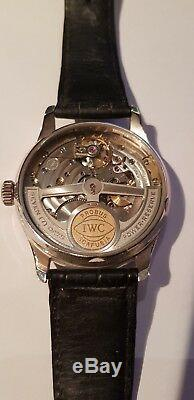IWC Portugese Platinum Limited edition withPlat clasp great condition