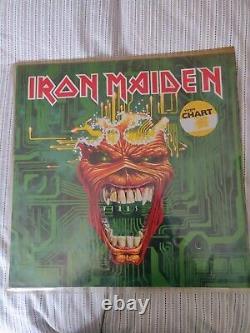 Iron Maiden Virus 12 Vinyl Mint Condition RARE