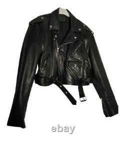 Jean paul gaultier Vintage Leather Perfecto Biker Jacket Amazing Condition L