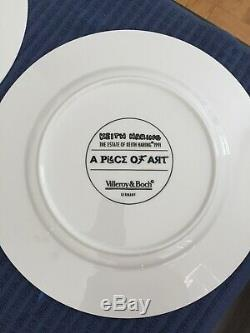KEITH HARING 13 PLATE, A PIECE OF ART, Limited Edition, Mint Condition