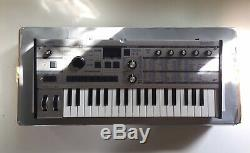 Korg MicroKorg Limited Edition Silver Synthesizer, excellent condition