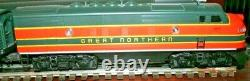 LIONEL 6-11724 Great Northern F3 ABBA Diesel Set withRailsounds in good condition