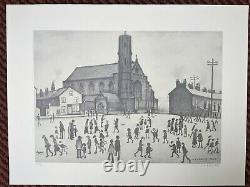 LS Lowry St Mary's Beswick Signed Limited Edition Print Great Condition