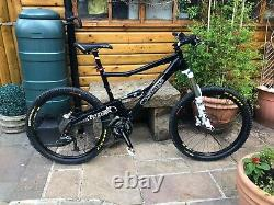 Large orange five limited edition mountain bike very good condition
