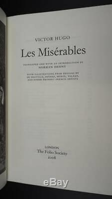 Les Miserables Limited Edition Bound in Leather, Very Good Condition Book, Victo