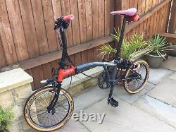 Limited Edition Brompton X Chpt3 V1 6 Speed S6e-x Mint Condition