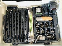 Limited Edition Festool Connect Set. Excellent condition