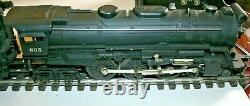 Lionel 665 HUDSON WITH 6026W TENDER IN VERY GOOD CONDITION