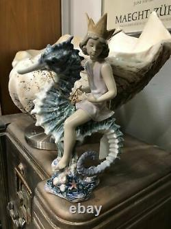 Lladro 1821 Prince Of The Sea Limited Edition Mint Condition No. 1464