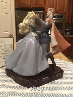 Lladro 7560 Sleeping Beautys Dance Ltd Edition with Wooden Base -Mint Condition