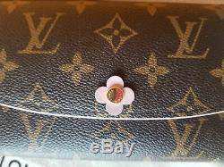 Louis Vuitton Emilie Bloom Flower Wallet Limited Edition Excellent Condition