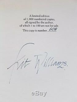 MASQUERADE KIT WILLIAMS Limited Edition MINT CONDITION