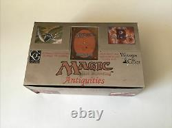 MTG Magic Antiquities Empty Booster Box Great Condition Rare