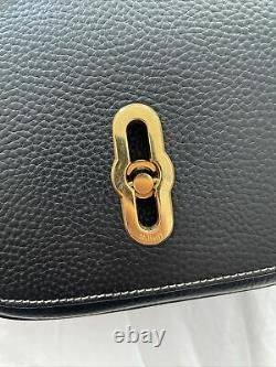 MULBERRY Small Amberley Satchel Black Limited Edition In Very Good Condition