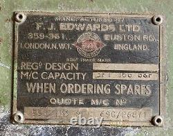Manual F. J. Edwards LTD 3FT 16G Box & Pan Sheet Metal Folder In Good Condition
