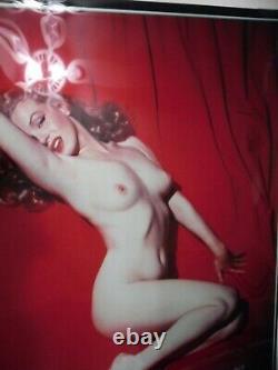 Marilyn Monroe Ltd Ed Photo -Tom Kelley Mint Condition Never Framed
