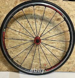 Mavic KSYRIUM PRO LTD Red Edition Road Bike Wheelset & Tyres Great Condition