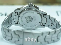 Men's Stainless Steel Tag Heuer Link 39mm Watch WJ1111-0 Pristine Condition
