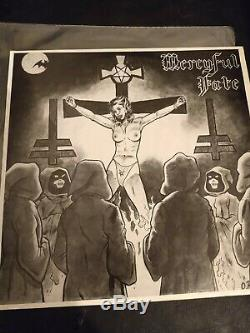 Mercyful Fate EP 1st PRESS WHITE BOARDER NM CONDITION INSERT INCLUDED