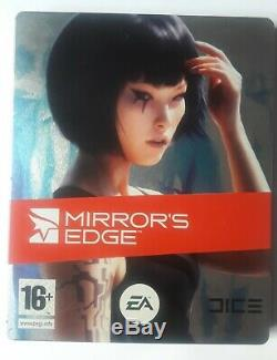 Mirror's Edge Steelbook Ps3. Complete, in good conditions. 2008 Limited Edition