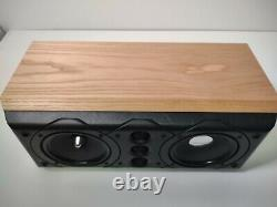 Mission 77c Center Speaker Home Cinema Oak Limited Edition Very Good Condition