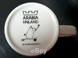 Moomin Arabia Christmas Mug Cup 2004-2005 retired limited edition New condition