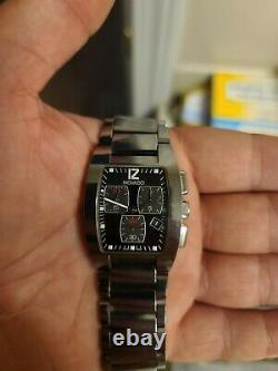 Movado Fiero Chronograph in Tungsten Carbide barely used. Excellent condition