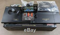 Neo Geo X Gold Limited Edition with NINJA MASTERS EXCELLENT CONDITION & COMPLETE
