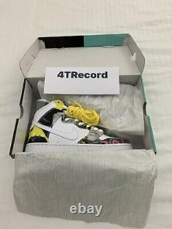 Nike Dunk SB De La Soul White Ltd Edition New Dead Stock Condition Size UK 8