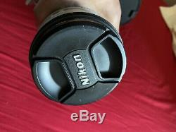 Nikon ED AFS VR NiKkor 70-200 F 2.8 Limited Edition RARE! Grey Mint Condition