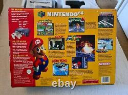 Nintendo 64 Limited Edition Console Complete Excellent Condition! PAL
