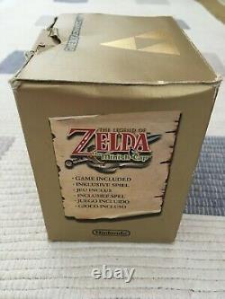 Nintendo Gameboy Advance SP Zelda Limited Edition Pak Near Mint Condition