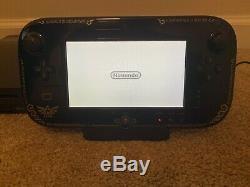 Nintendo Wii U Zelda Wind Waker HD Limited Edition Console 32GB Great Shape