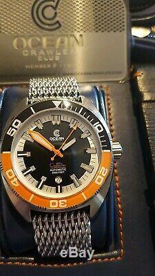 Ocean Crawler 600M Core Diver Sellita Movement Ltd Edition in mint condition