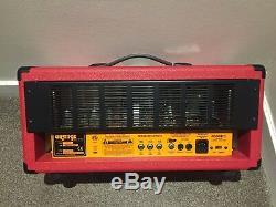 Orange AD30 TC Valve Head Amplifier Limited edition blood orange. New condition