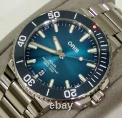 Oris Aquis Clean Ocean Limited Edition 39.5 Watch near perfect condition