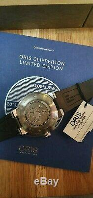 Oris Aquis Clipperton Ltd Edition Superb condition