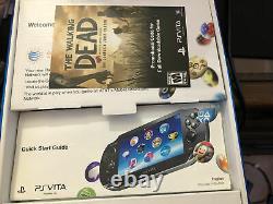 PSP Vita Walking Dead Limited Edition Bundle, Excellent Condition