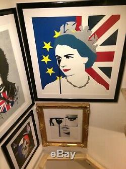 PURE EVIL'BREXIT' QEll RARE LIMITED EDITION PRINT MINT CONDITION