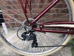 Pendleton Somerby Ladies 17 Bike with Basket Limited Edition Red Exc Condition