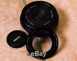 Pentax HD DA 40mm F2.8 Limited black ltd pancake -like new- mint condition