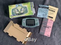 Pokemon Center Game Boy Advance Celebi Limited Edition Very Good Condition