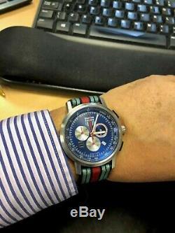 Porsche Genuine Martini Racing Chronograph watch Used Condition Rare Ltd Edition
