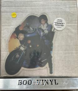 Prince Purple Rain UK Shaped Picture Disc Mega Rare Nr Mint Condition