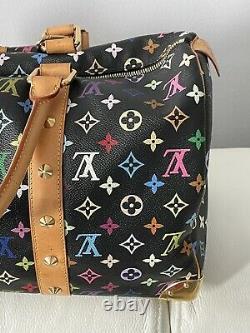 RARE CONDITION! HTF LOUIS VUITTON Multicolor Duffle Keepall 45 Bag