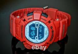 RARE Casio G-Shock Mudman Red Watch G-9000MX-4D Fresh BATTERY GREAT CONDITION