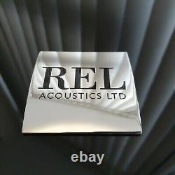 REL Carbon Ltd 12 550W Active Subwoofer, Boxed, Complete in Excellent Condition