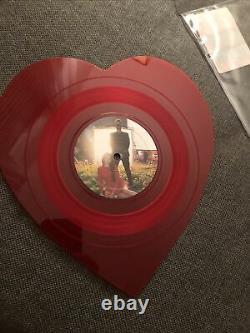 Rare Lana Del Rey Lust For Life/Love LP Limited Edition Heart Shape Vinyl